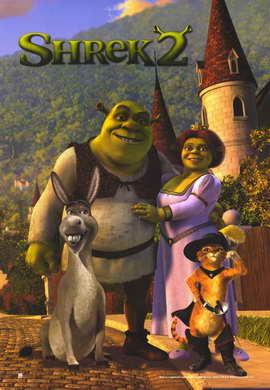 Shrek 2 - 11 x 17 Movie Poster - Style G