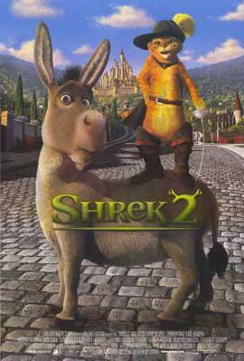 Shrek 2 - 11 x 17 Movie Poster - UK Style A
