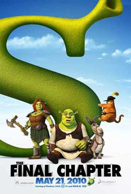 Shrek Forever After - 27 x 40 Movie Poster - Style B