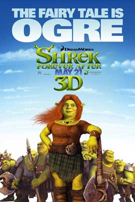 Shrek Forever After - 11 x 17 Movie Poster - Style I