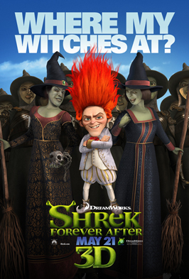 Shrek Forever After - 11 x 17 Movie Poster - Style J