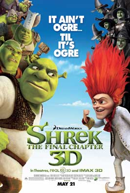 Shrek Forever After - 11 x 17 Movie Poster - Style L