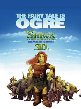 Shrek Forever After - 43 x 62 Movie Poster - Bus Shelter Style B