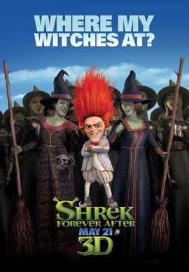 Shrek Forever After - 27 x 40 Movie Poster - Style F