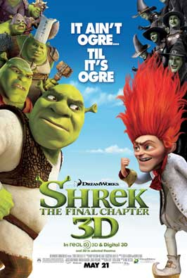 Shrek Forever After - 27 x 40 Movie Poster - Style M
