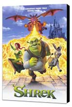 Shrek - 11 x 17 Movie Poster - Style A - Museum Wrapped Canvas
