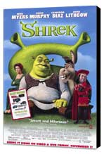 Shrek - 11 x 17 Movie Poster - Style D - Museum Wrapped Canvas