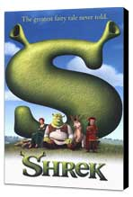Shrek - 27 x 40 Movie Poster - Style B - Museum Wrapped Canvas