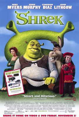 Shrek - 11 x 17 Movie Poster - Style D