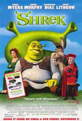 Shrek - 27 x 40 Movie Poster - Style C