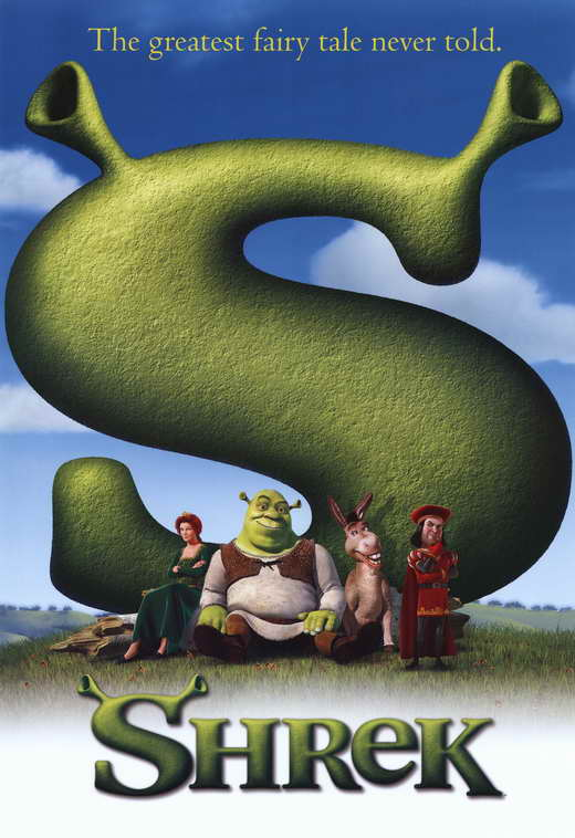Shrek Movie Posters From Movie Poster Shop