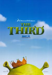 Shrek the Third - 43 x 62 Movie Poster - Bus Shelter Style A