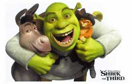 Shrek the Third - 11 x 17 Movie Poster - Style G