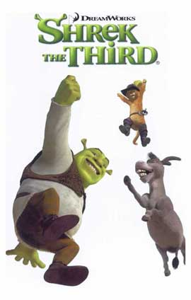 Shrek the Third - 11 x 17 Movie Poster - Style H