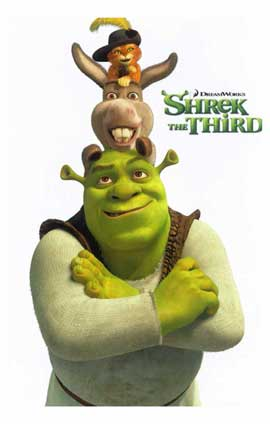 Shrek the Third - 11 x 17 Movie Poster - Style I