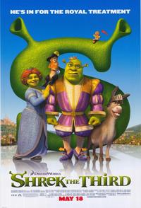 Shrek the Third - 43 x 62 Movie Poster - Bus Shelter Style B