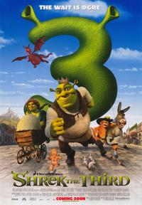 Shrek the Third - 43 x 62 Movie Poster - Bus Shelter Style C