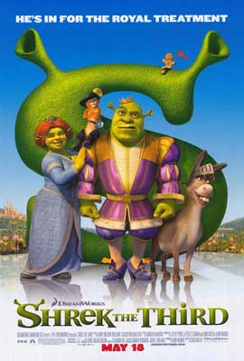 Shrek the Third - 11 x 17 Movie Poster - Style J