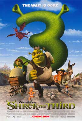 Shrek the Third - 11 x 17 Movie Poster - Style K