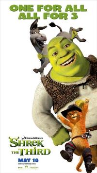 Shrek the Third - 27 x 40 Movie Poster - Style E