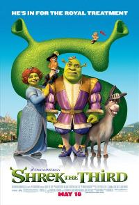 Shrek the Third - 43 x 62 Movie Poster - Bus Shelter Style D