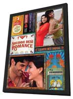 Shuddh Desi Romance - 11 x 17 Movie Poster - India Style A - in Deluxe Wood Frame