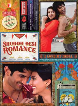 Shuddh Desi Romance - 27 x 40 Movie Poster - Indian Style A
