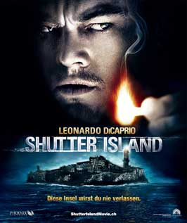 Shutter Island - 11 x 17 Movie Poster - Swiss Style B