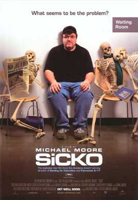 Sicko - 11 x 17 Movie Poster - Style B