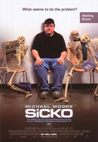 Sicko - 43 x 62 Movie Poster - Bus Shelter Style B