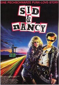 Sid & Nancy - 11 x 17 Movie Poster - German Style A