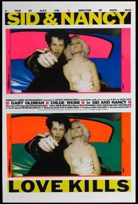 Sid & Nancy - 11 x 17 Movie Poster - Style B