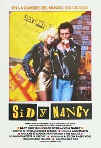 Sid & Nancy - 27 x 40 Movie Poster - Spanish Style B