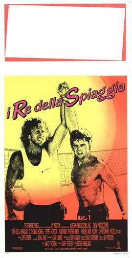 Side Out - 13 x 28 Movie Poster - Italian Style A