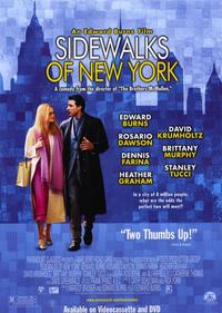 Sidewalks of New York - 11 x 17 Movie Poster - Style A