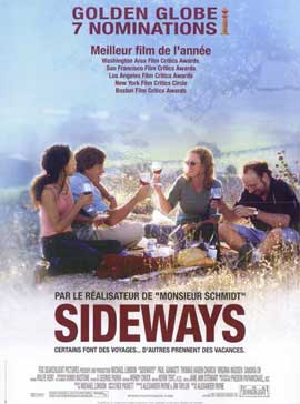 Sideways - 11 x 17 Movie Poster - French Style A