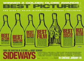 Sideways - 11 x 17 Movie Poster - Style B