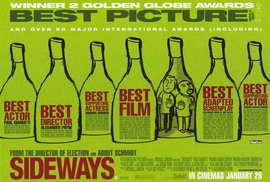 Sideways - 27 x 40 Movie Poster - Style B