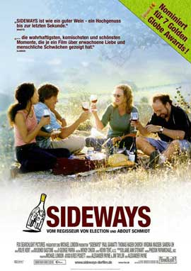 Sideways - 11 x 17 Movie Poster - German Style A