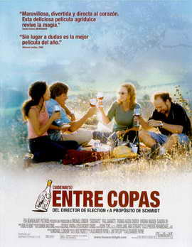Sideways - 27 x 40 Movie Poster - Spanish Style A