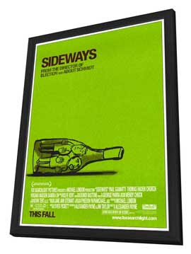 Sideways - 11 x 17 Movie Poster - Style A - in Deluxe Wood Frame