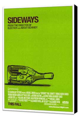 Sideways - 11 x 17 Movie Poster - Style A - Museum Wrapped Canvas