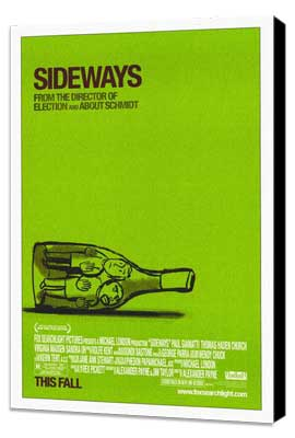 Sideways - 27 x 40 Movie Poster - Style A - Museum Wrapped Canvas