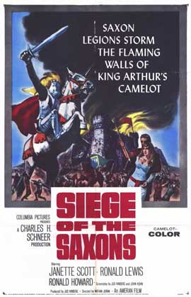 Siege of the Saxons - 11 x 17 Movie Poster - Style A