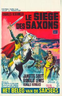 Siege of the Saxons - 11 x 17 Movie Poster - Belgian Style A