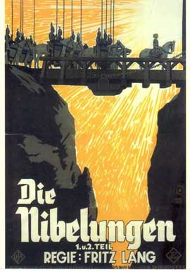 Siegfried - 11 x 17 Movie Poster - German Style B