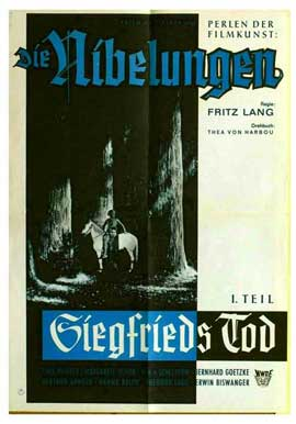 Siegfrieds Tod - 11 x 17 Movie Poster - German Style A