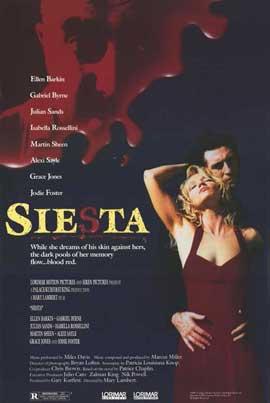 Siesta - 11 x 17 Movie Poster - Style B