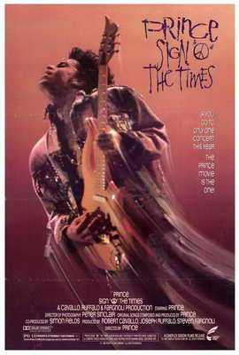 Sign O the Times - 27 x 40 Movie Poster - Style A