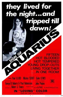 Sign of Aquarius - 11 x 17 Movie Poster - Style A
